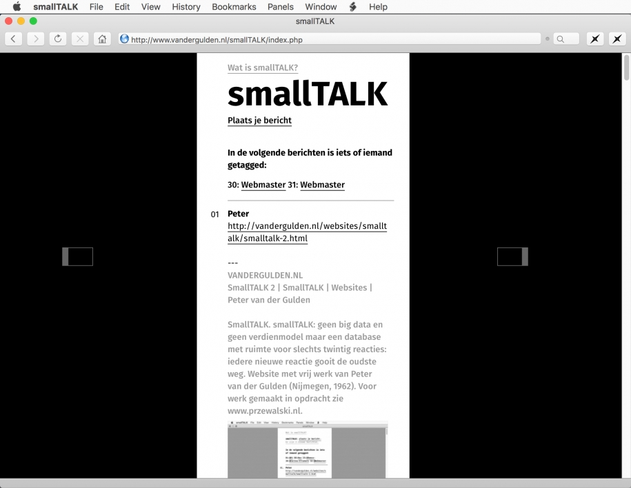 smallTALK: smallTALK